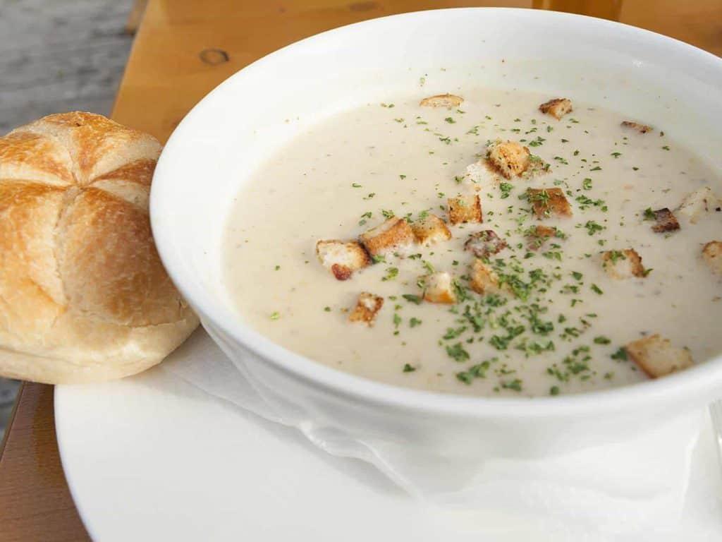 Supa crema de pui cu orez