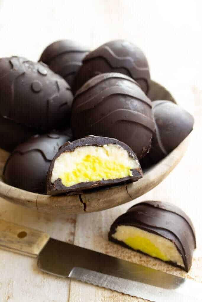 Oua cu ciocolata pentru diabetici