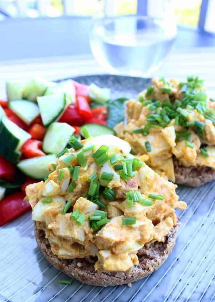 Salata cu pui si ou pentru diabetici